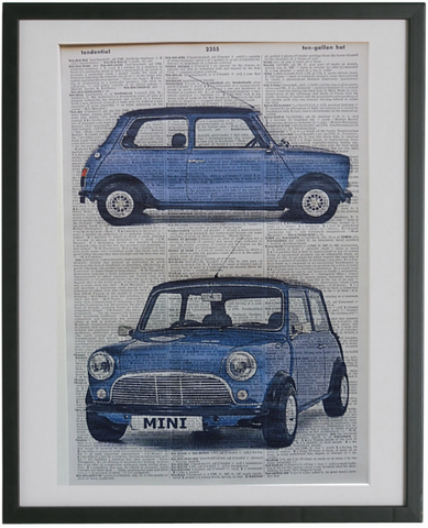 Mini Minor Car #1 Wall Art No.632