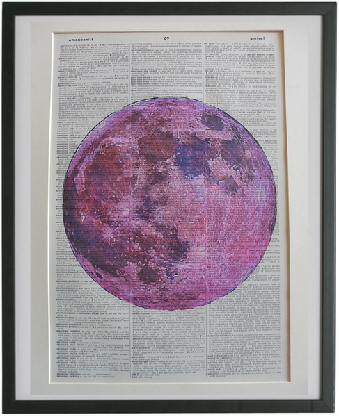 Moon Pink Print No.869, miscellaneous