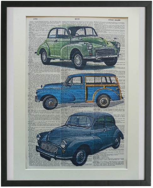 Morris Minor Car Print No.710