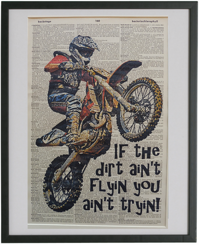Motocross #1 Wall Art No.154