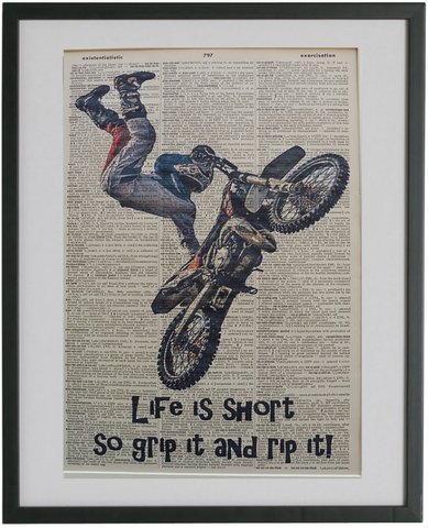 Motocross #03 Wall Art No.189