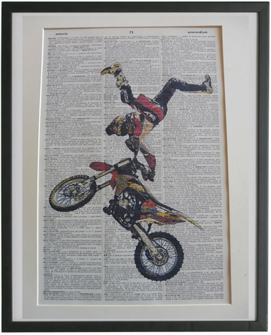 Motocross #06 Wall Art No.872