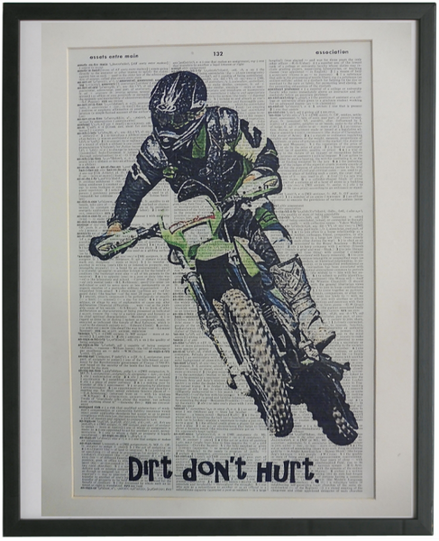 Motocross #08 Wall Art No.664