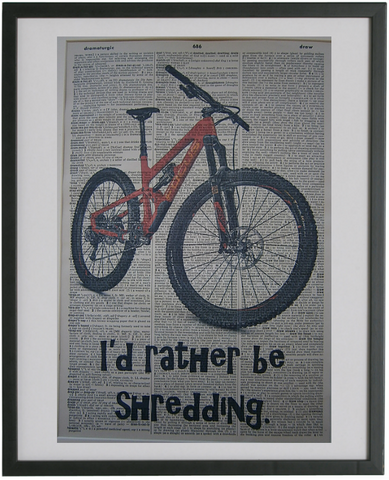 Mountain Bike Print No.505