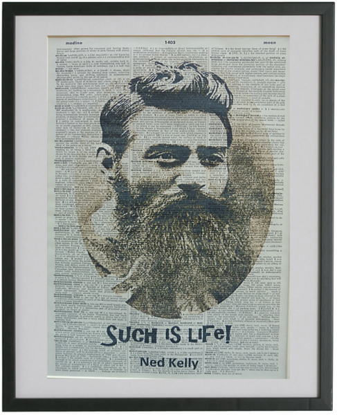 Ned Kelly Print No.621, famous
