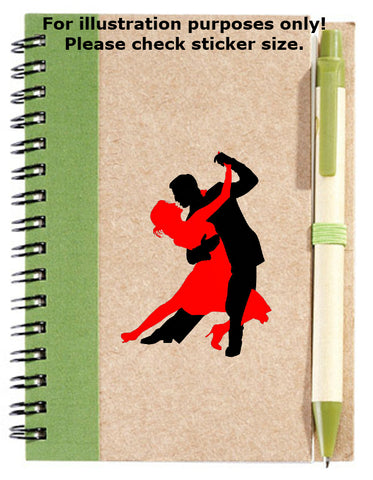 Dancing Couple Sticker No.207