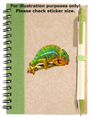 Chameleon Sticker No.383, animals