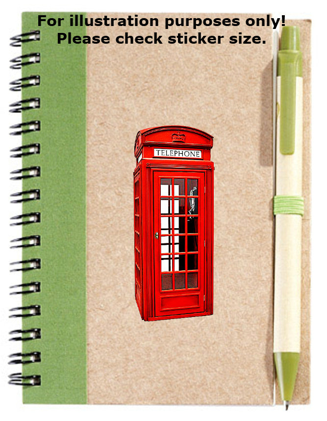 British Telephone Box Sticker No.411, miscellaneous