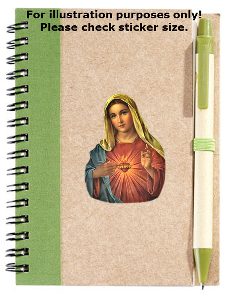 Virgin Mary Stickers No.693