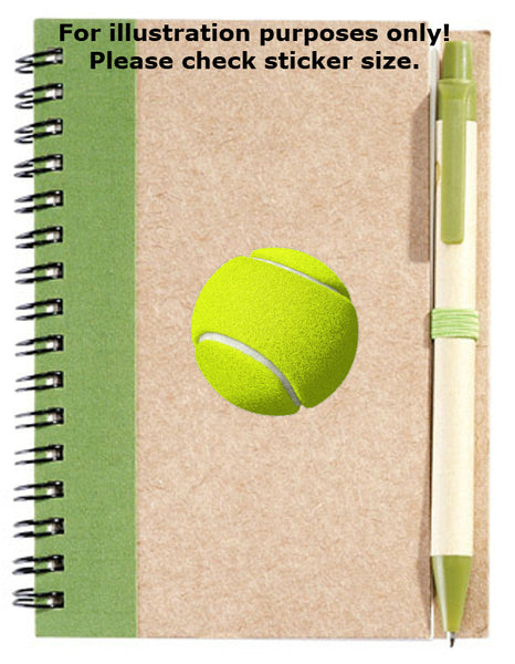 Tennis Ball Stickers No.898