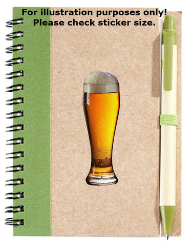 Beer Glass Stickers No.947