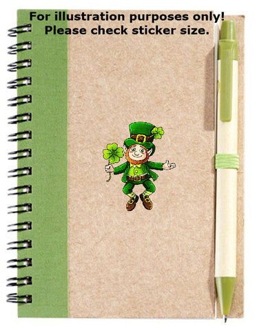 St. Patrick's Day Leprechaun Sticker No.996