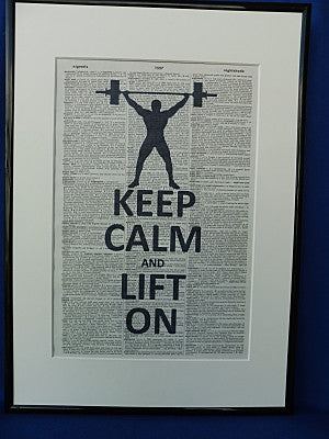 Weight Lifter Print No.85