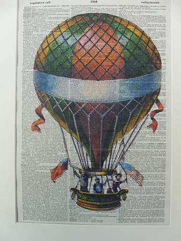 Hot Air Balloon Print No.321