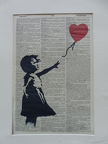 Banksy Balloon Girl Wall Art No.339, miscellaneous