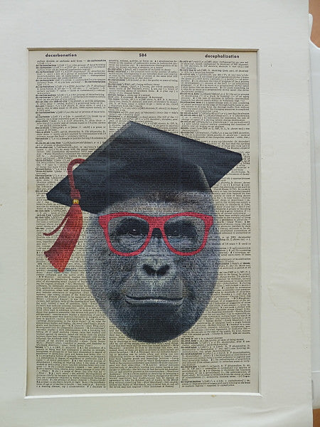 Gorilla Print No.280, animals