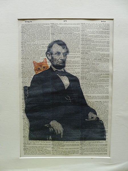 Abraham Lincoln Print No.300, famous