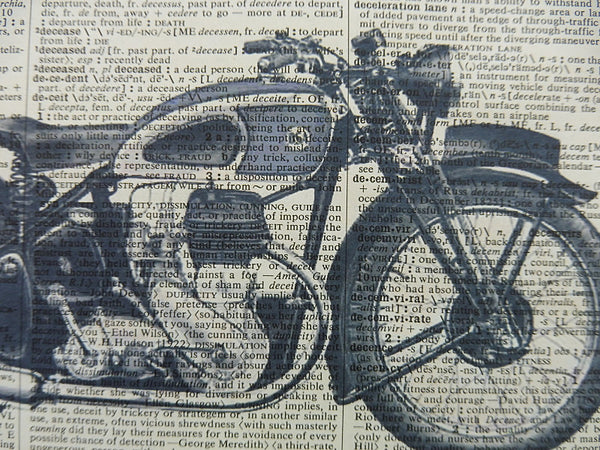 BSA Motorcycle Print No.457