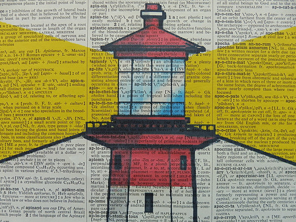Lighthouse Print No.460