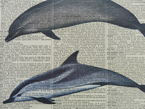 Dolphins Print No.603