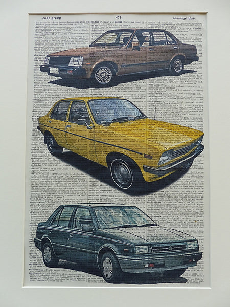 Holden Gemini Car Print No.250