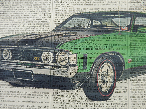 Ford Falcon XA Car Print No.326