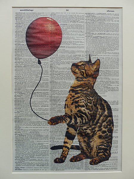 Bengal Cat Print No.265