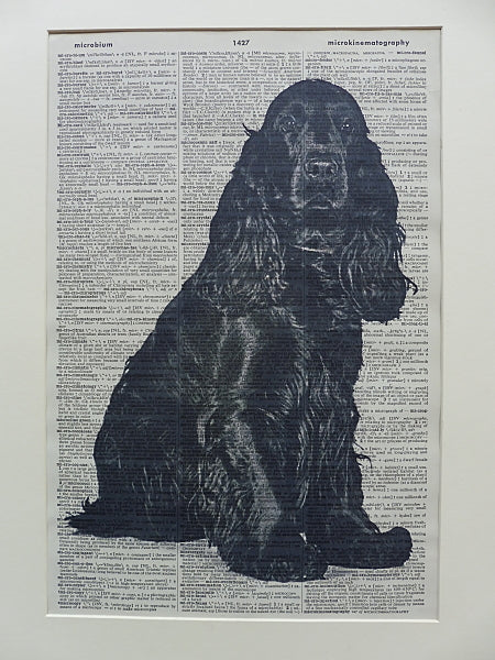 Cocker Spaniel Dog Print No.17