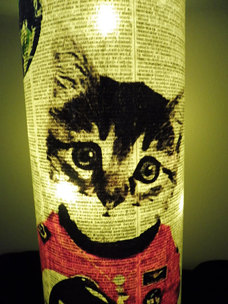 Space Cat Paper Lantern No.54