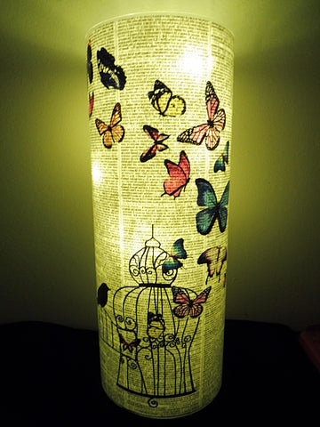Butterfly Lantern No.378, botanical