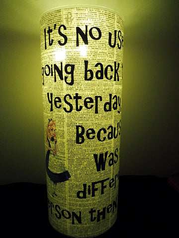 Alice in Wonderland Lantern No.498