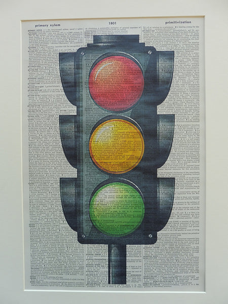 Traffic Lights Wall Art No.289, miscellaneous