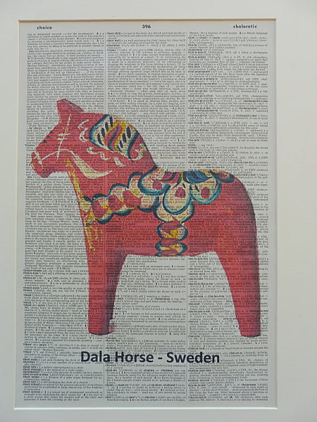 Dala Horse Print No.430, miscellaneous