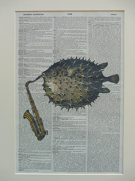 Puffer Fish #1 Wall Art No.612