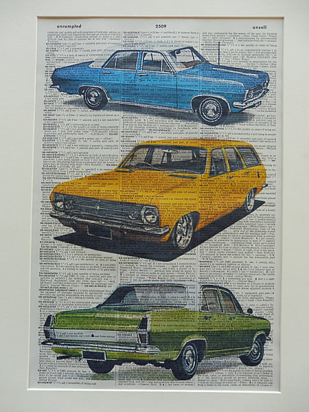 Holden HR Car Print No.676