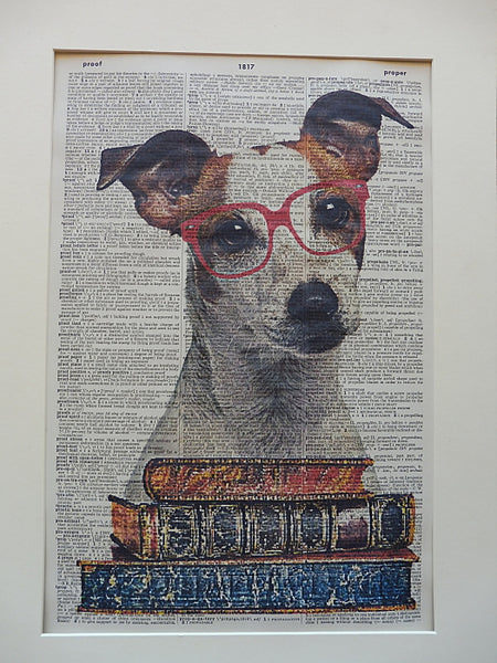 Jack Russell Terrier Dog Print No.703