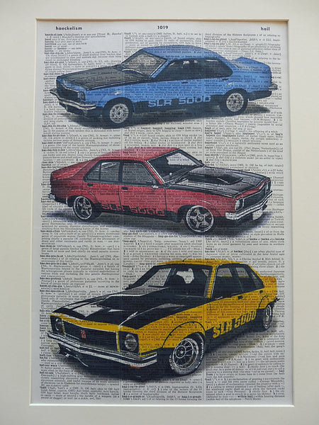 Holden Torana SLR 5000 Wall Art No.504