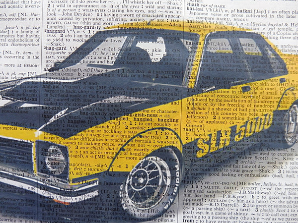 Holden Torana SLR 5000 Car Wall Art No.504