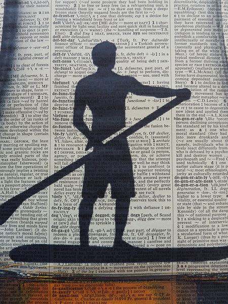 Paddleboarder Male Wall Art No.734