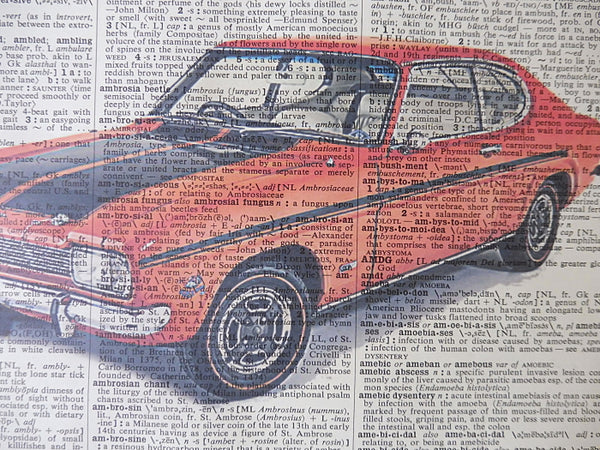 Ford Capri Car Print No.668