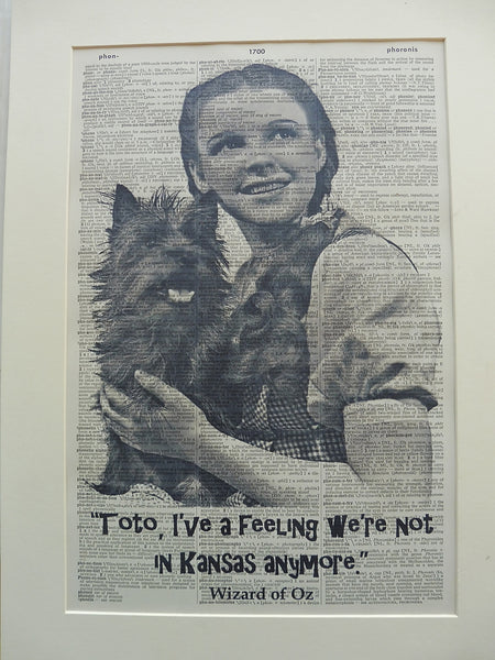 Wizard of Oz Print No.803