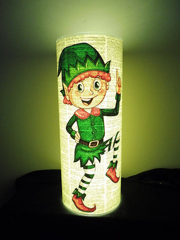 Christmas Elf Lantern No.860