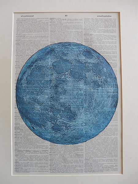 Moon Blue Print No.875, miscellaneous