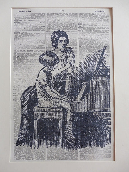 Piano Teacher Print No.923