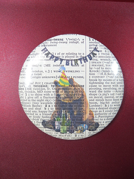 Bear #1 Fridge Magnet No.235, animals
