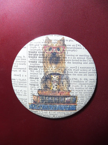 Australian Silky Terrier Dog #1 Fridge Magnet No.781