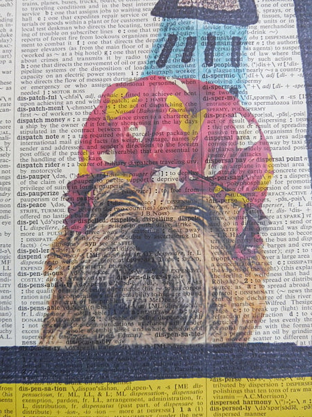 Cairn Terrier Dog #2 Print No.376