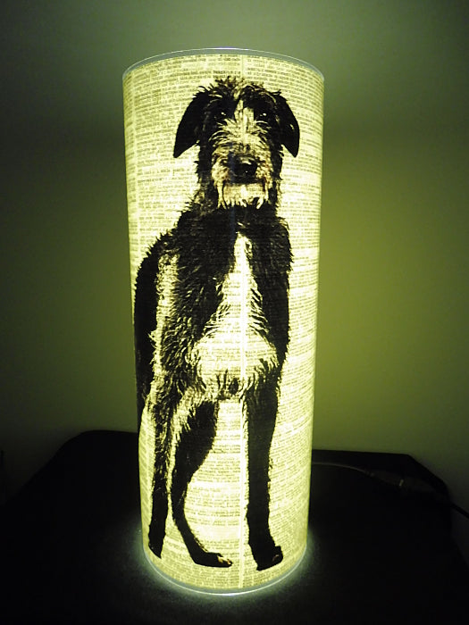 Irish Wolfhound Dog #01 Paper Lantern No.762