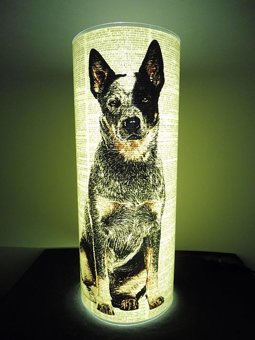 Blue Heeler Dog #4 Paper Lantern No.783