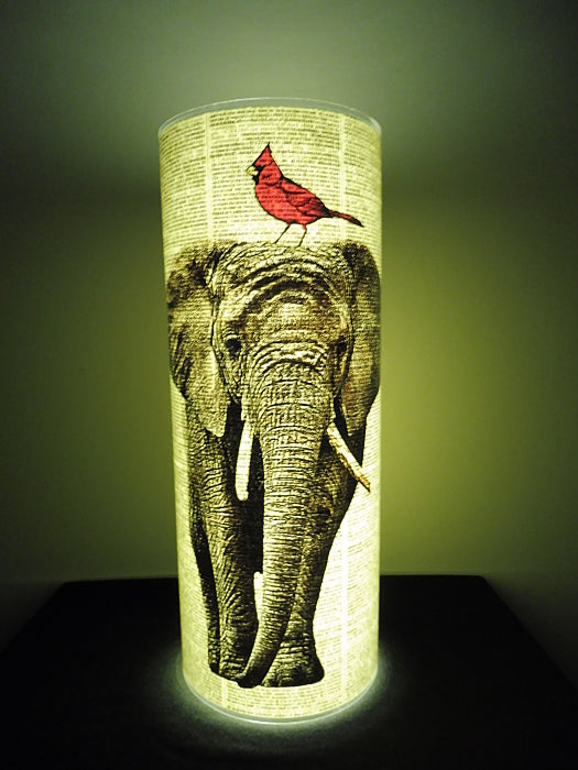Elephant #3 Paper Lantern No.802, animal